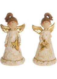 Prydnadsfigur Ängel (2-pack), bpc living bonprix collection