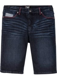 Stretchiga jeansbermudas med bekvämt snitt, normal passform, bpc bonprix collection