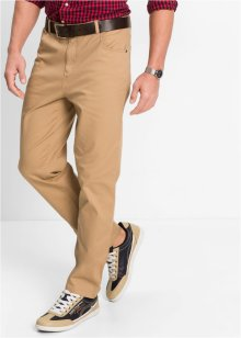 Stretchbyxa, classic straight fit, bpc bonprix collection, camel