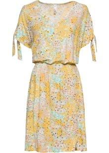 Blommig klänning gulvit, blommig RAINBOW beställa online