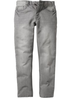 Jeans slim fit, raka, RAINBOW, light grey denim