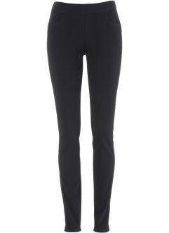 Treggings med ribbstickad look, bpc bonprix collection