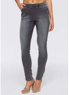 Jeggings, John Baner JEANSWEAR, medium grey denim used