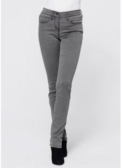 Stretchjeans, megastretch, bpc selection, grey denim