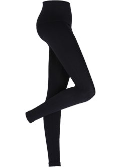 Sömlösa leggings med shapingeffekt, bpc bonprix collection, svart