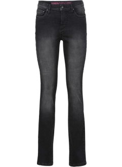 Formande skinnyjeans, RAINBOW, black denim