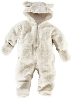 Overall i teddyfleece, bpc bonprix collection, cremevit