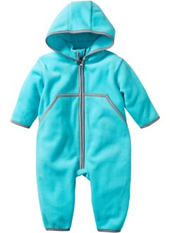 Babyfleeceoverall, bpc bonprix collection, aqua