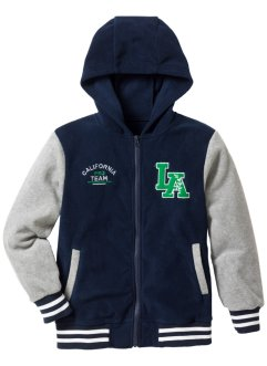 Baseballjacka i fleece, bpc bonprix collection