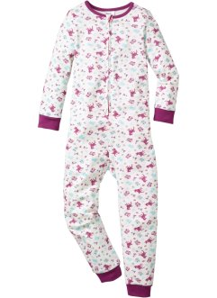 Babypyjamas, bpc bonprix collection, ullvit, mönstrad