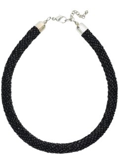Halsband, bpc bonprix collection, svart, glänsande