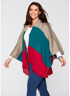 Stickad poncho, bpc bonprix collection