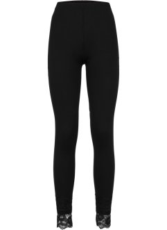 Leggings med spets, BODYFLIRT