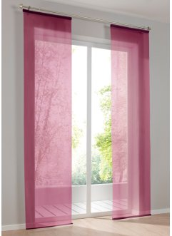 "Panelgardin ""Uni voile"", bpc living bonprix collection"