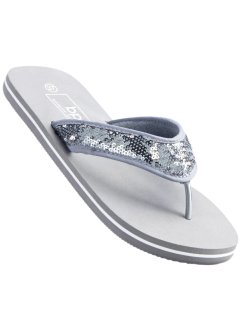 Flip-flop-sandal, bpc bonprix collection, grå