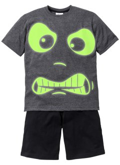 "Kort pyjamas (2 delar) ""GLOW IN THE DARK"", bpc bonprix collection"