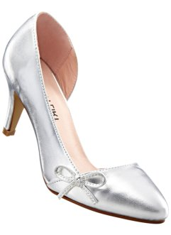 Pumps, BODYFLIRT, silver metallic