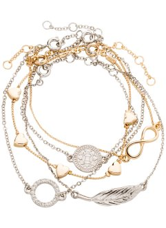 Set med armband (5 delar), bpc bonprix collection