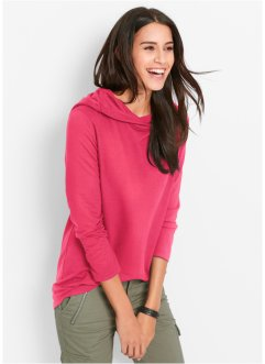 Sweatshirt, bpc bonprix collection, hibiskusrosa