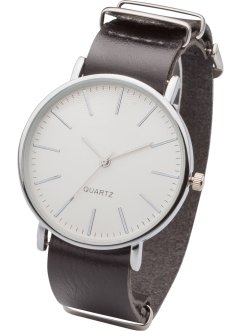 Stilrent armbandsur, bpc bonprix collection, svart