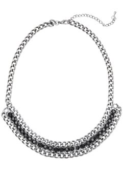 Halsband, länkkejdedesign, bpc bonprix collection, silverfärgat
