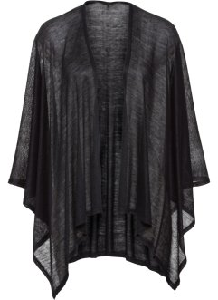 Luftig poncho, enfärgad, bpc bonprix collection