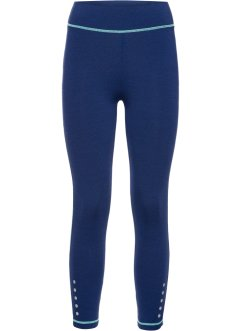 Funktionsleggings, bpc bonprix collection, midnattsblåmelerad