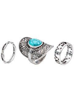 3-delat ringset Bohemian, bpc bonprix collection