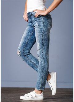 Stuprörsjeans, RAINBOW, blue washed