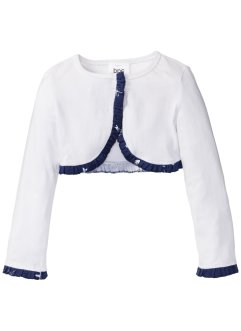 Bolero, bpc bonprix collection, vit, med tryck