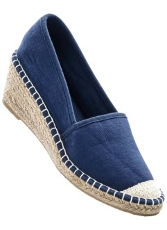 Espadriller med kilklack, bpc bonprix collection