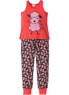 Pyjamas (2-delat set), med linne, bpc bonprix collection