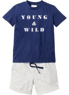 T-shirt + shorts, bpc bonprix collection