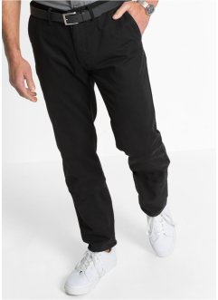 Chinos, normal passform, bpc bonprix collection, svart