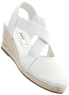 Espadrillos med kilklack, bpc bonprix collection