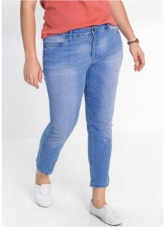 Stretchjeans, 7/8, smal passform, John Baner JEANSWEAR