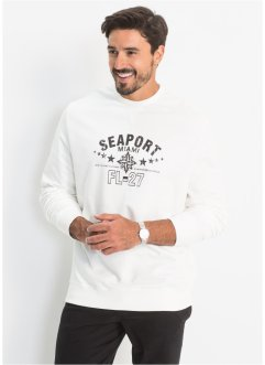 Sweatshirt med tryck fram, normal passform, bpc bonprix collection