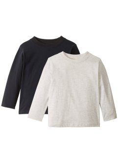 Långärmad T-shirt (2-pack), bpc bonprix collection