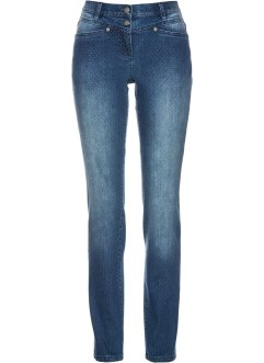 Stretchjeans med prickar, bpc selection