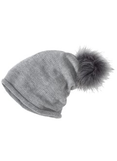 Beanie med tofs, bpc bonprix collection