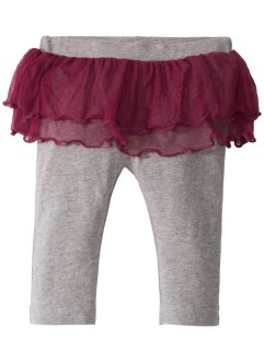 Babyleggings med tutu, ekologisk bomull, bpc bonprix collection