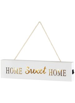 "Skylt med LED-belysning ""Home Sweet Home"", bpc living"
