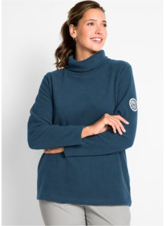 Polotröja i fleece, bpc bonprix collection