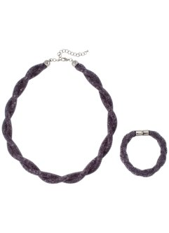 Set med halsband + armband, bpc bonprix collection