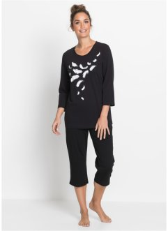 Pyjamas med capribyxa, bpc bonprix collection