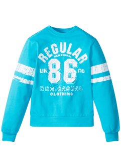 Sweatshirt med collegetryck, bpc bonprix collection