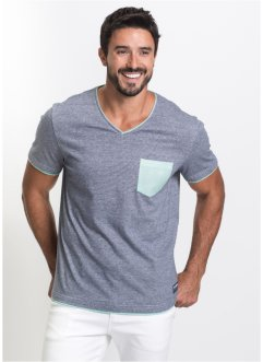 V-ringad T-shirt, normal passform, bpc bonprix collection