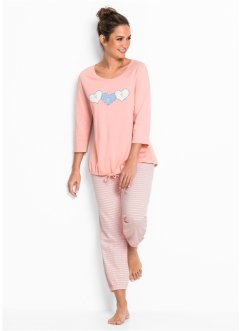 Pyjamas med 7/8-byxa, bpc bonprix collection