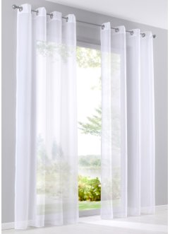 "Gardin ""Enfärgad voile"" (1-pack), bpc living bonprix collection"