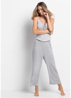 Jumpsuit i viskos, 7/8-längd, bpc bonprix collection